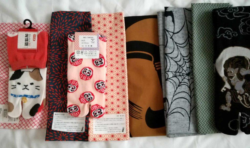 Productos de Nakaya Honten, lugares que todo creativo/a debería visitar en Tokio