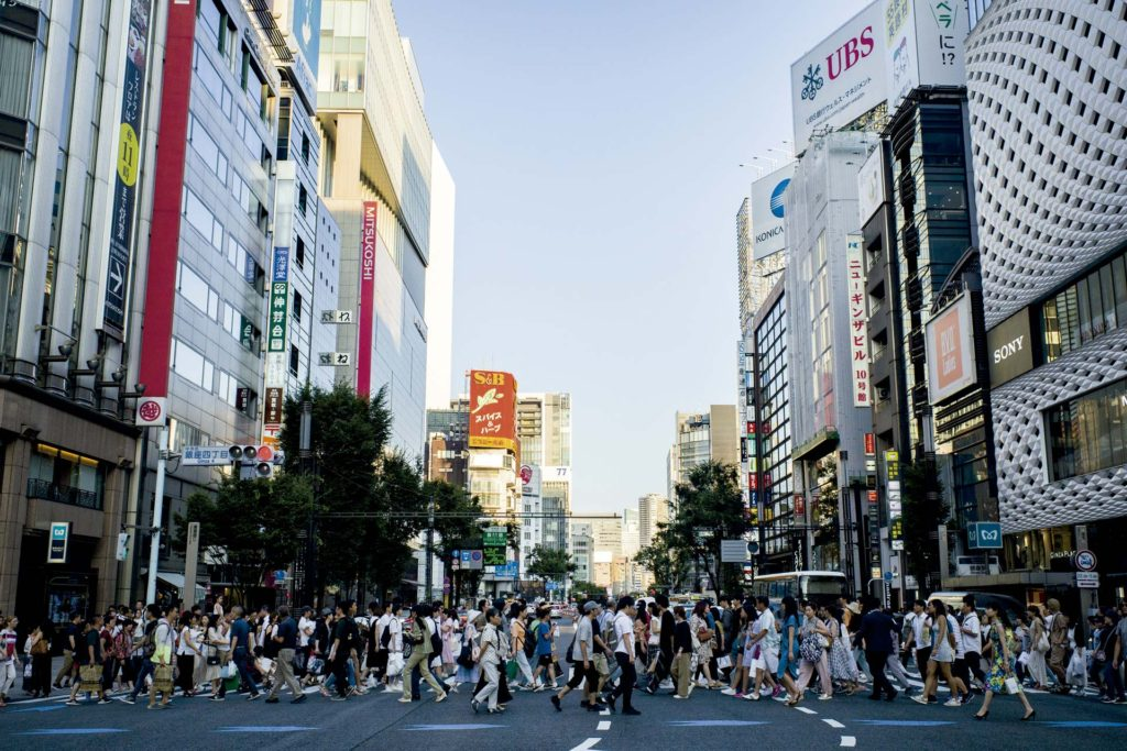 Ginza, lugares que todo creativo/a debería visitar en Tokyo